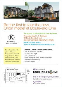B1 Orion Model Opening Koelbel Kollective Preview