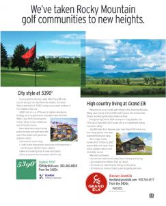 5390' + Grand Elk Avid Golfer AD 2018