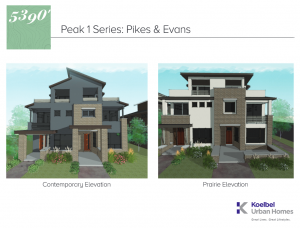 5280' Peak I Floorplan Brochure
