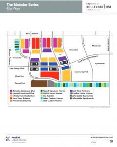 KUH CityHomes Site Plan