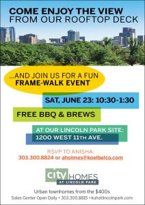 Lincoln Park Frame Walk