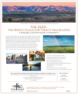 Gray Douglas County Living Ad March 2018