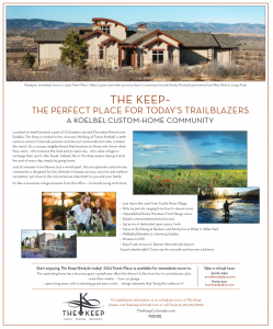 Trailblazer Douglas County Living Ad April 2018