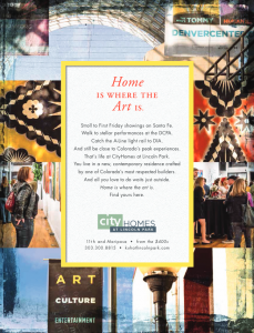 Modern in Denver Ad Spring Issue 2018