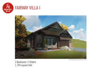 Fairway Villa I Floor Plan 2017