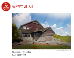 Fairway Villa II Floor Plan 2017