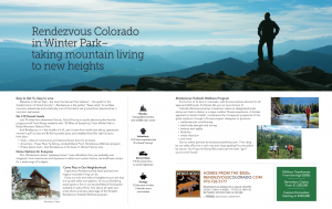 Rendezvous Trail and Timberline Ad April 2018